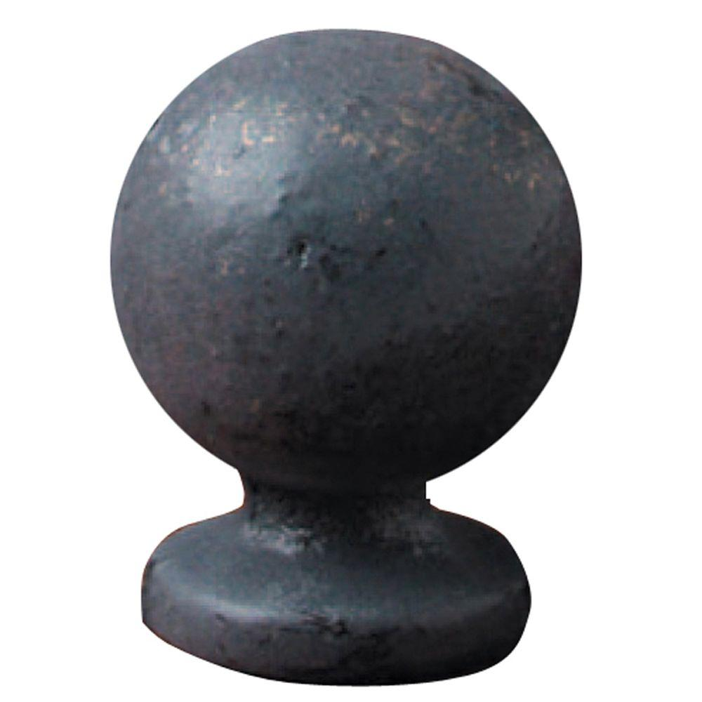 Mario Industries Bronze Iron Sphere Lamp Finial