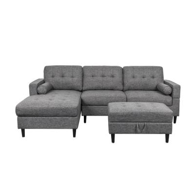 Swell Ottoman Sectionals Living Room Furniture The Home Depot Uwap Interior Chair Design Uwaporg