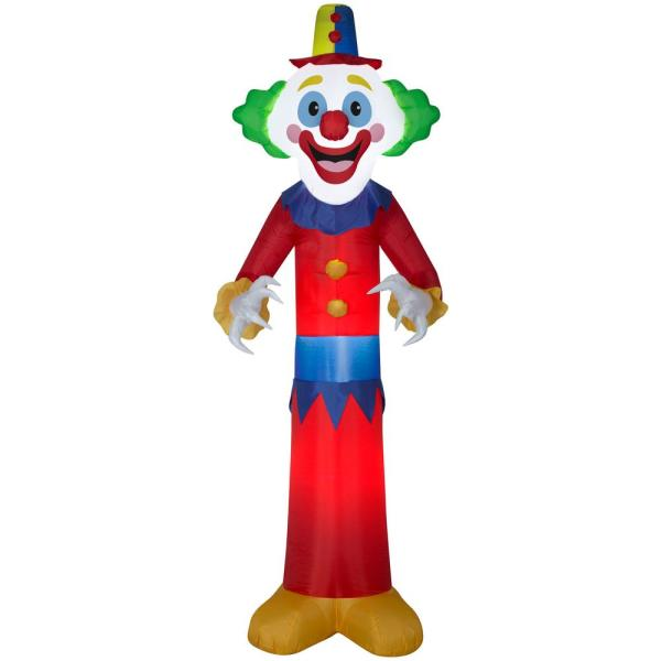 9 ft. H Inflatable Airblown Happy Clown