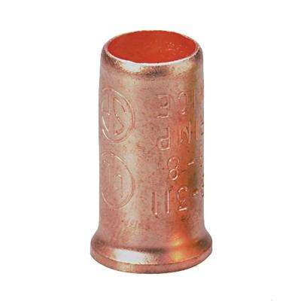 14 - 8 AWG Copper Crimp Connectors (50-Pack)