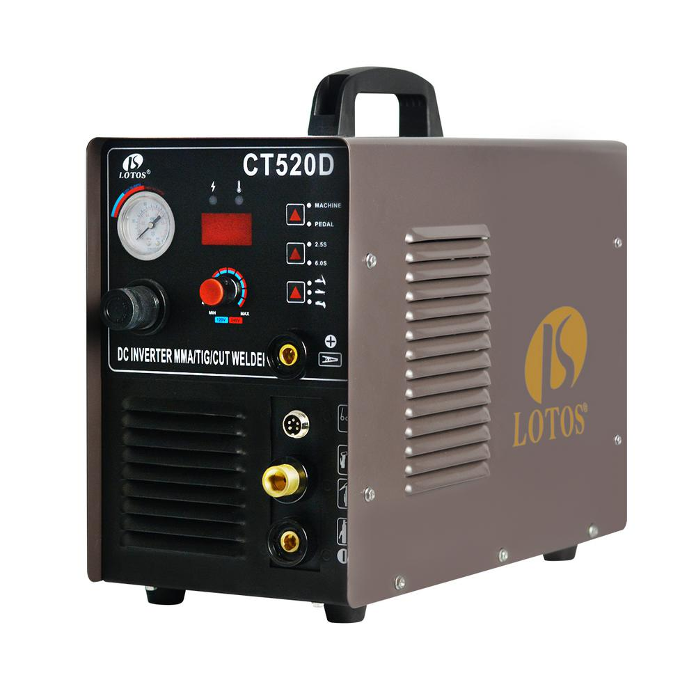 Pack of 9 LTPDC2000D CT520D Lotos Technology TA01 Accessories and Consumables Kit for Welders TIG200