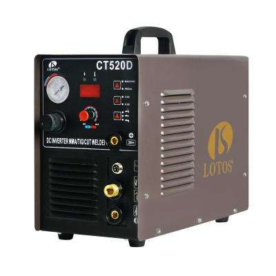 50 Amp Plasma Cutter, 200 Amp TIG/Stick Welder 3-in-1 Combo Welding Machine, Dual Voltage 110V/220V