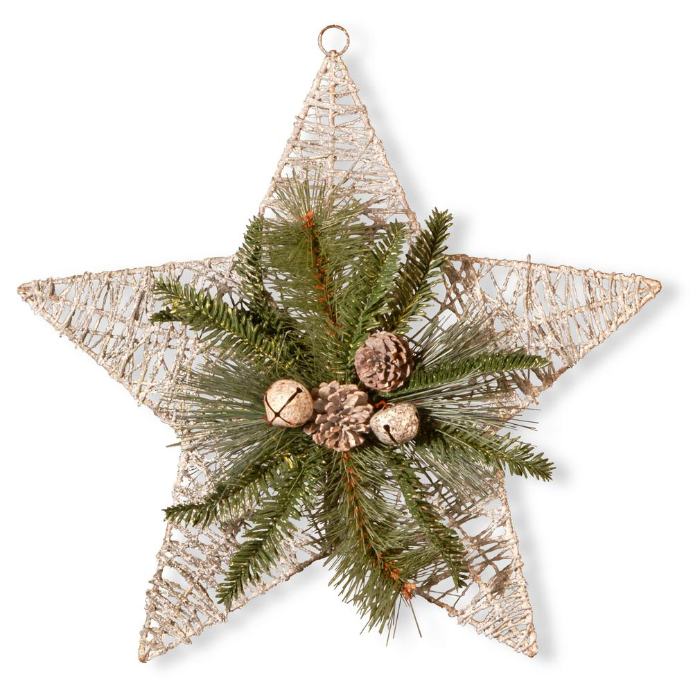 18 in. Holiday Star Decoration