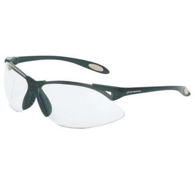 A900 Series Safety Glasses with Clear Tint Fog-Ban Anti-Fog Lens and Black Frame