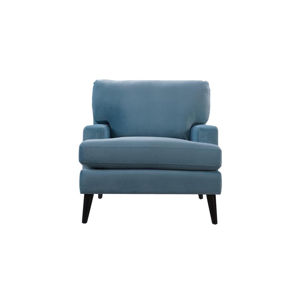 Jennifer Taylor Enzo Arctic Blue Lawson Accent Chair 63330-1-894