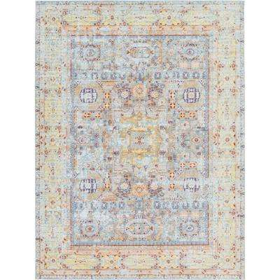 Austin Tremolo Light Blue 7' 0 x 10' 0 Area Rug