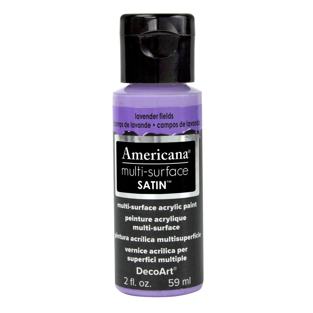 Americana 2 oz. Lavender Fields Satin Multi-Surface Acrylic Paint