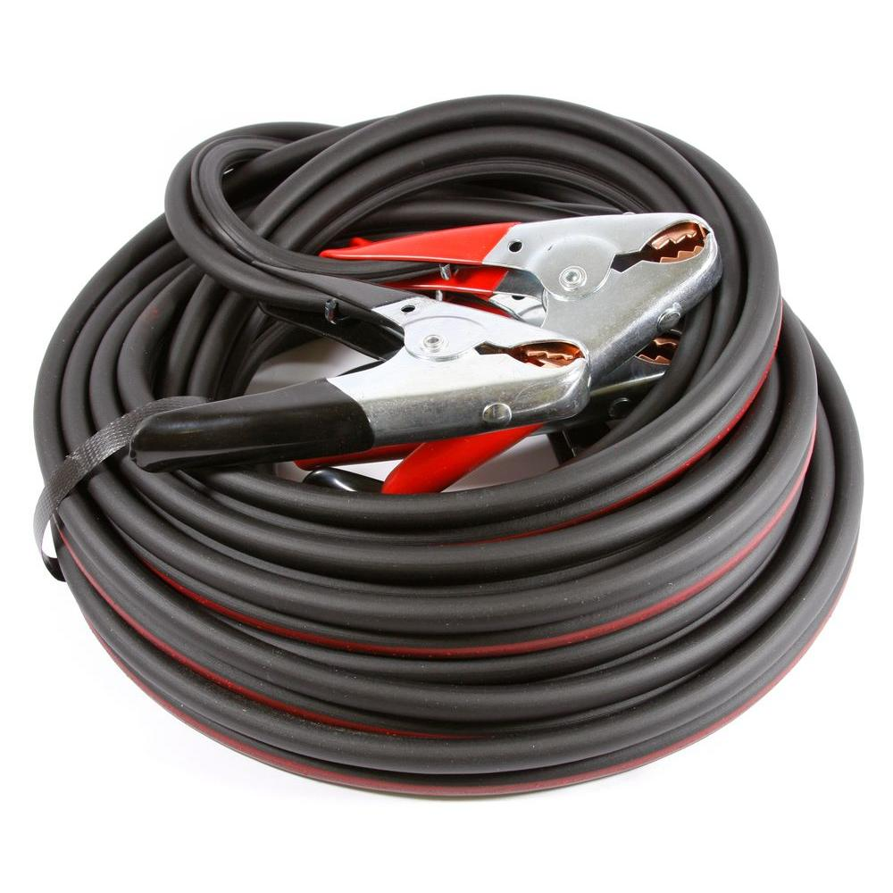Forney 16 ft. 4-Gauge Twin Cable Heavy Duty Battery Jumper Cables ...