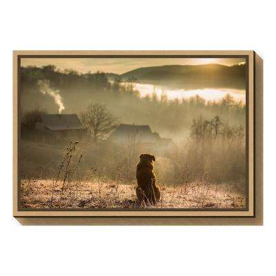 """good connection"" by Georgiana Lefter Framed Canvas Wall Art"