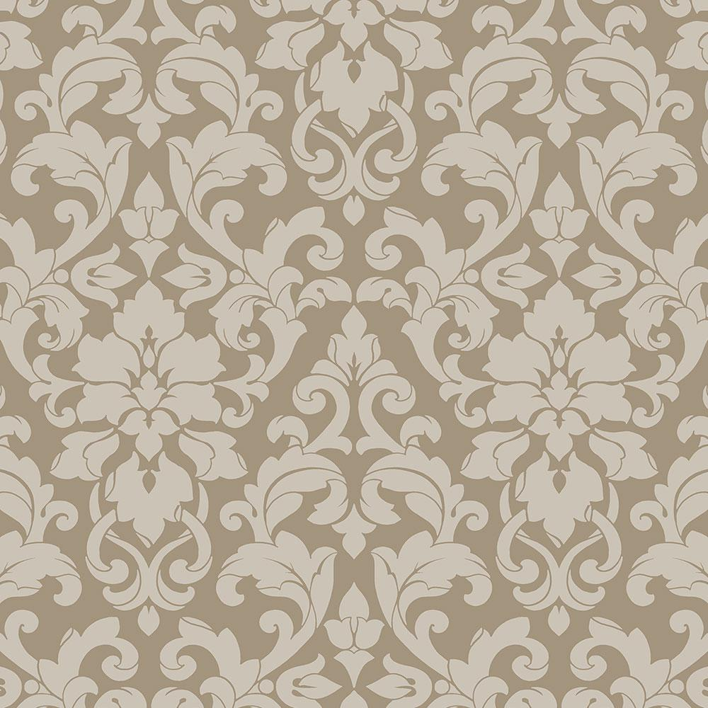 Norwall Velvet Damask Wallpaper