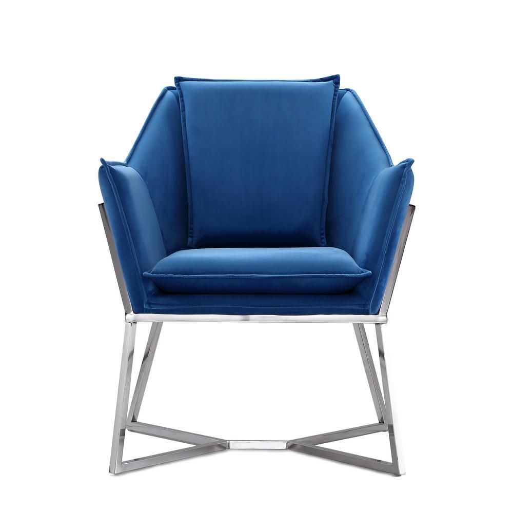 CEETS Blue Origami Accent Chair AC052-BL