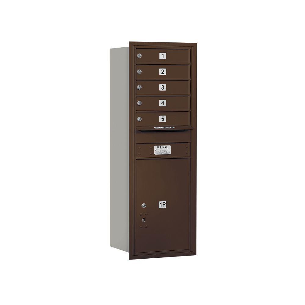 3700 Series 48 in. 13 Door High Unit Bronze Private Rear