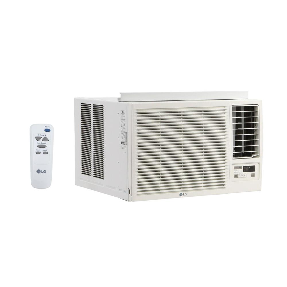 LG Electronics 23,000 BTU 230/208-Volt Window Air Conditioner with Cool,  Heat