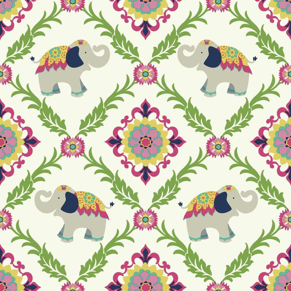 York wallcoverings waverly kids reverie wallpaper wk6971 for Waverly wallpaper