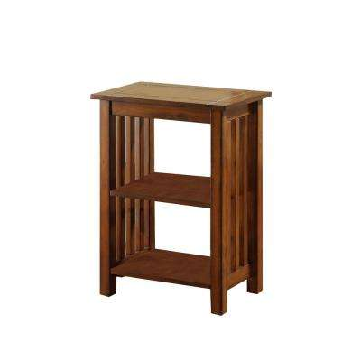 Angie Antique Oak Side Table
