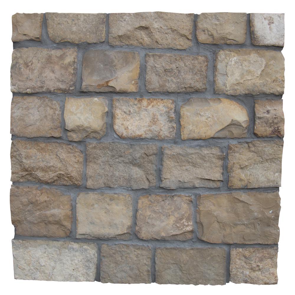 London Natural Sandstone Wall Loose Veneer (100 sq. ft. / pallet)