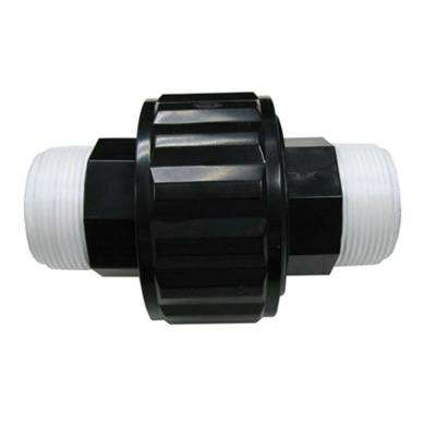 1-1/2 in. MIP Black Self-Aligning Double Male End Union Replacement