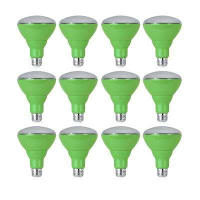 65W Equivalent BR30 Medium E26 Base Non-Dimmable Indoor and Outdoor Full Spectrum LED Plant Grow Light Bulb (12-Pack)