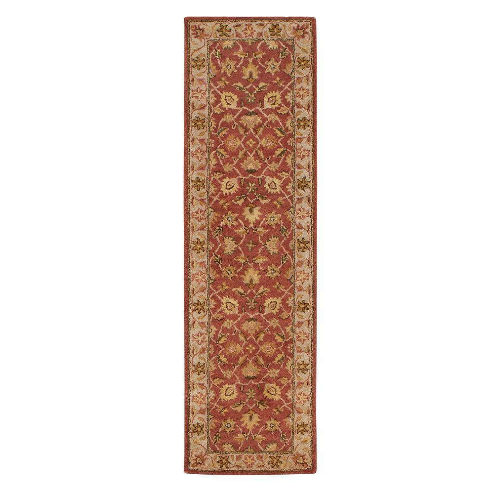 Old London Terra/Ivory 2 ft. 3 in. x 8 ft. Rug