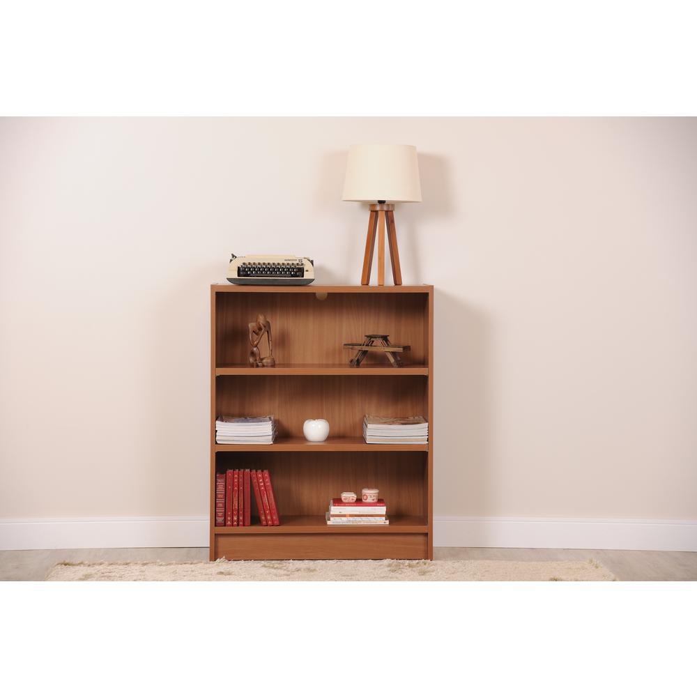 Greenwich Maple Cream 3-Shelf Wide Grande 1.0 Bookcase
