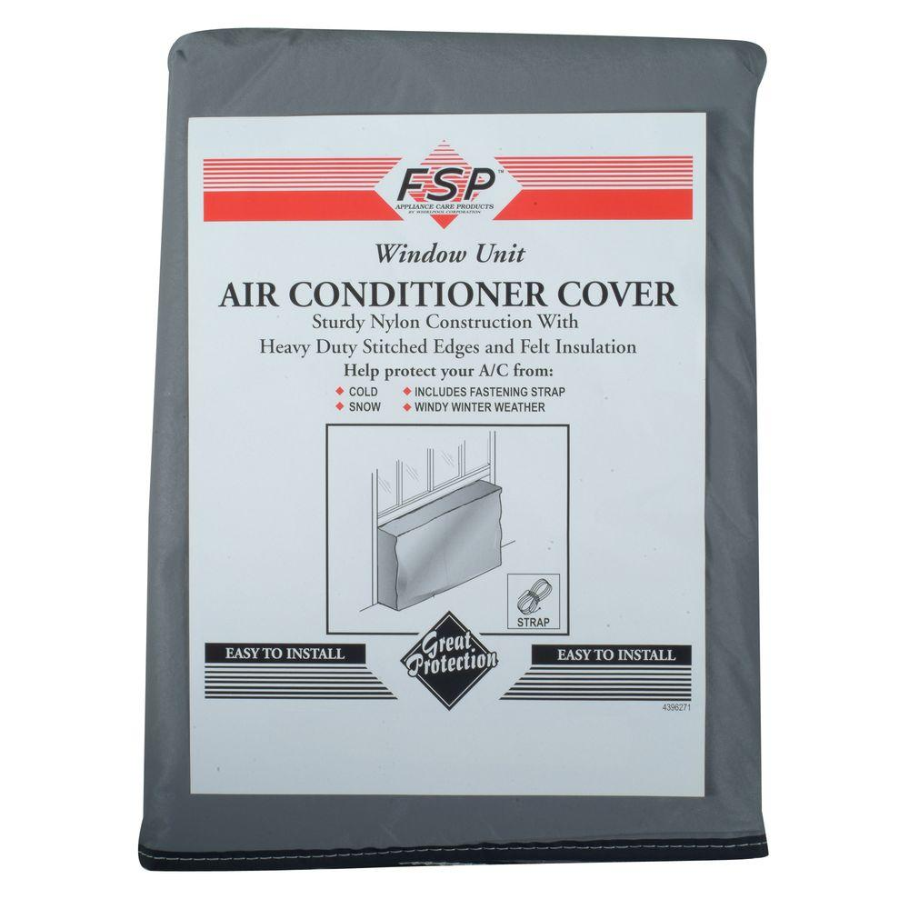 Whirlpool Air Conditioner Outdoor Cover-Small, Gray