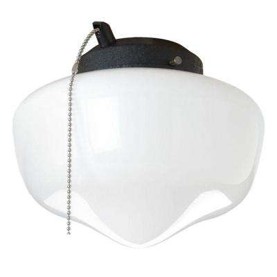 AirPro 1-Light Forged Black Ceiling Fan Light