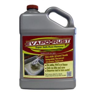 Evapo Rust 1 Gal Safe Rust Remover Er012 The Home Depot
