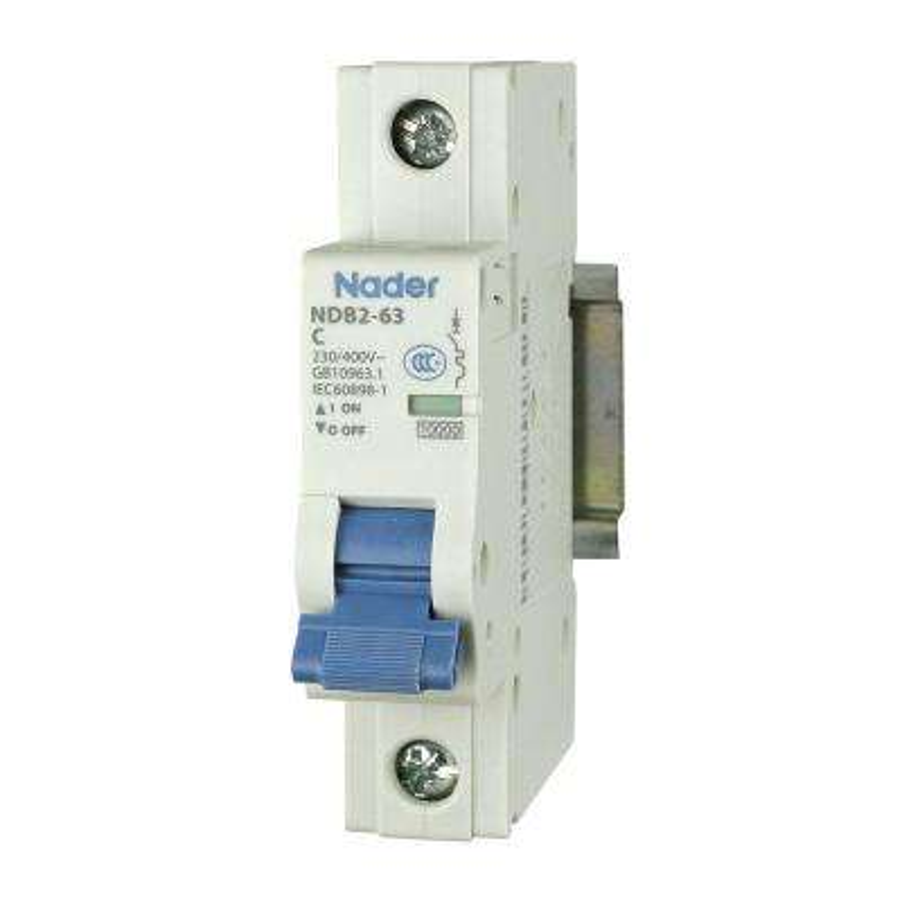 10 Amp 240Vac/60Vdc 1-Pole Miniature Circuit Breaker DIN Rail Mount