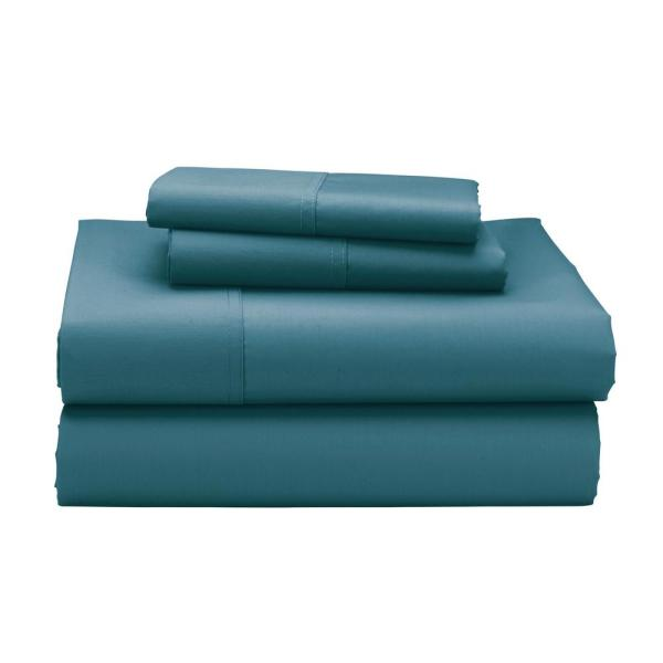 The Company Store 3-Piece Blue Jay 300 Thread Count Sateen Twin