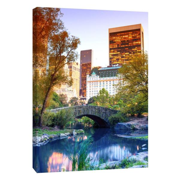 PTM Images 12 in. x 10 in. ''Central Park View'' Printed