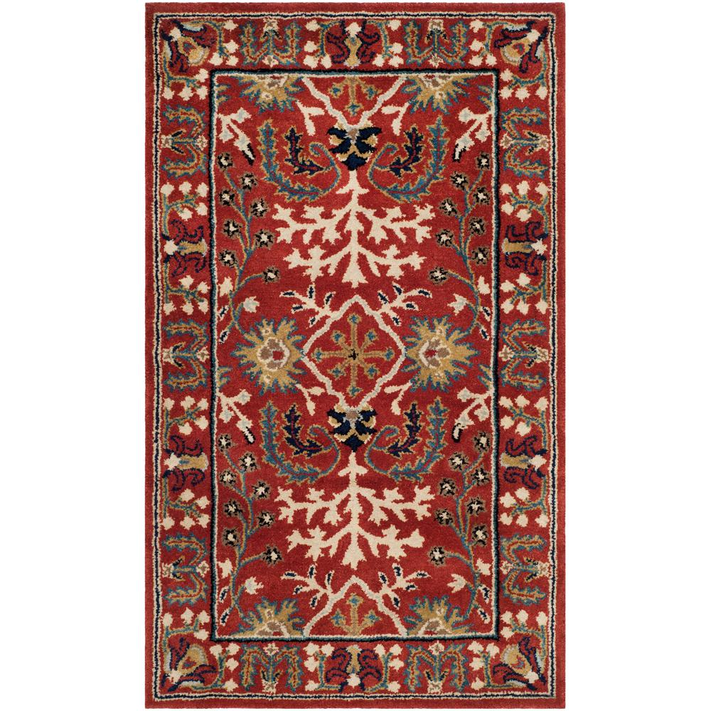 Antiquity Red/Multi 3 ft. x 5 ft. Area Rug