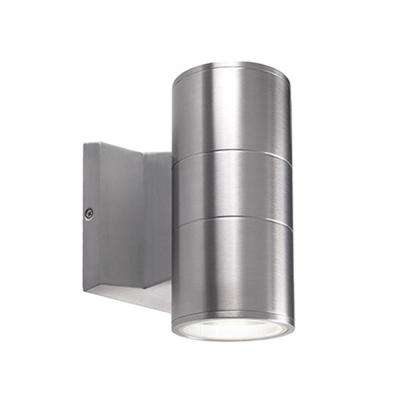 Troy Silver Outdoor Integrated LED Wall Mount Sconce