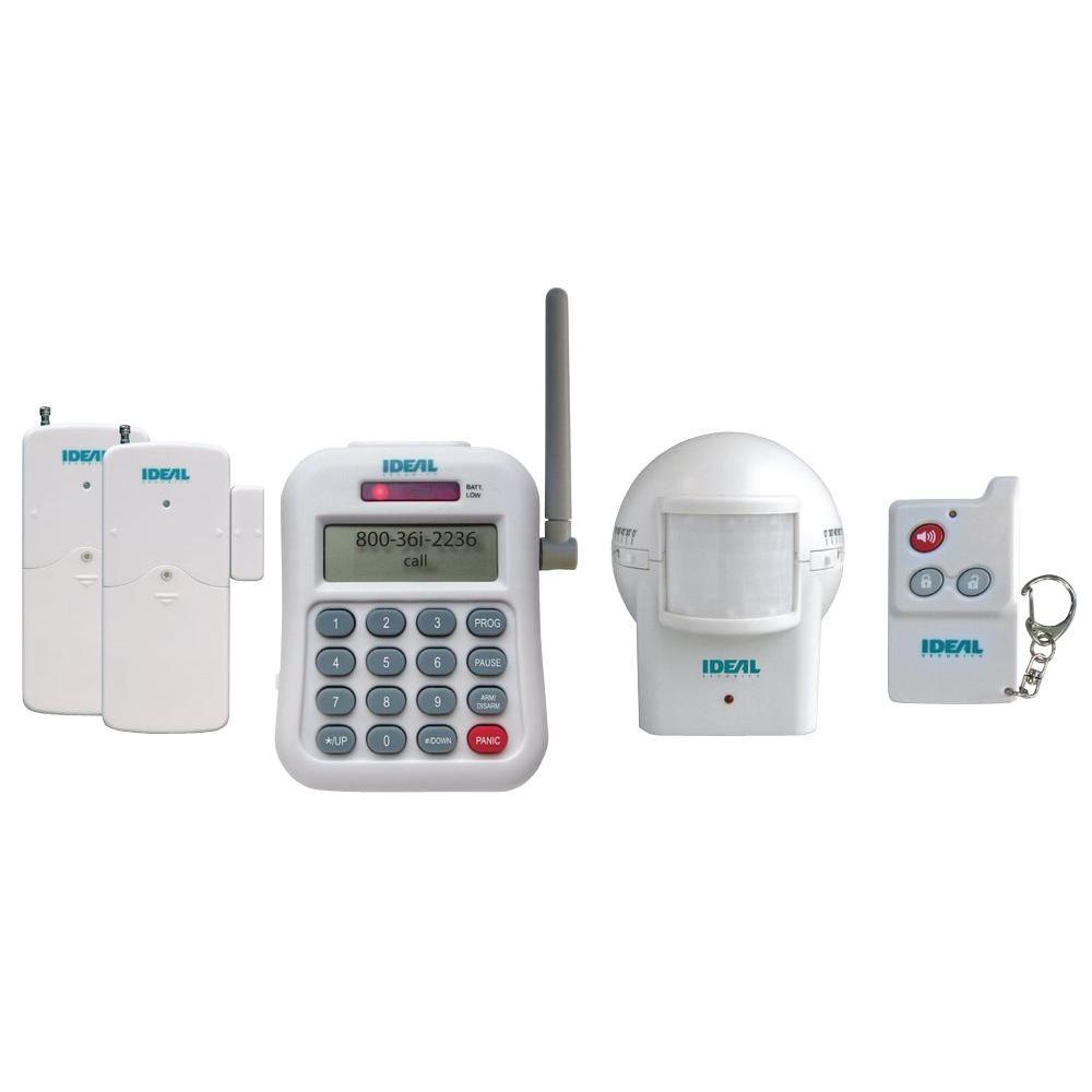 Wireless Alarm Set with Telephone Dialer