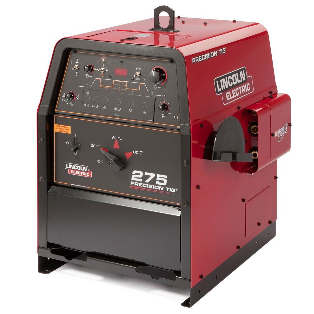 Lincoln Electric Welding Machines The Home Depot Wiring Up A 220v Machine 340 Amp Precision Tig 275 Welder Single Phase 460v 575v