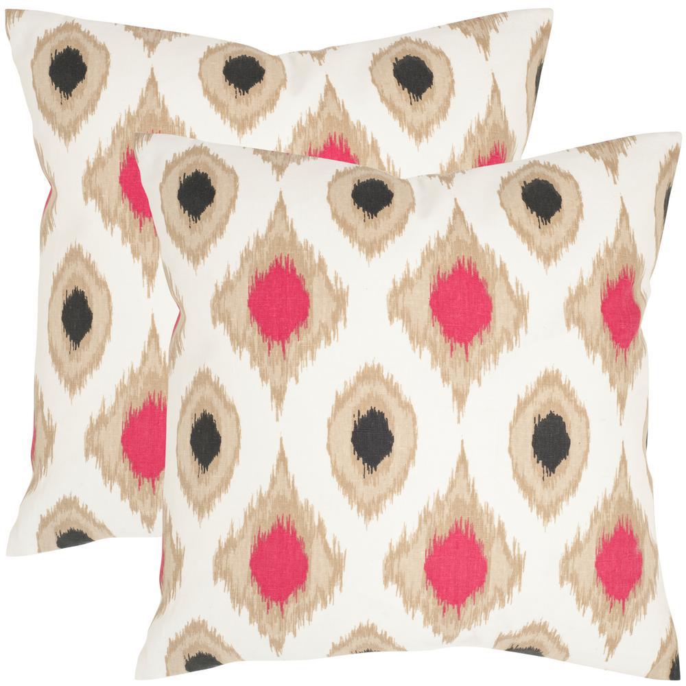 Miranda Printed Patterns Pillow (2-Pack)