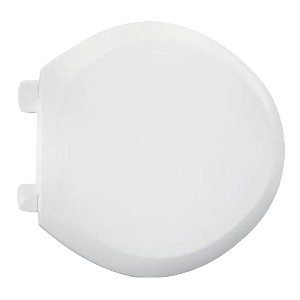 American Standard EverClean Round Closed Front Toilet Seat in White