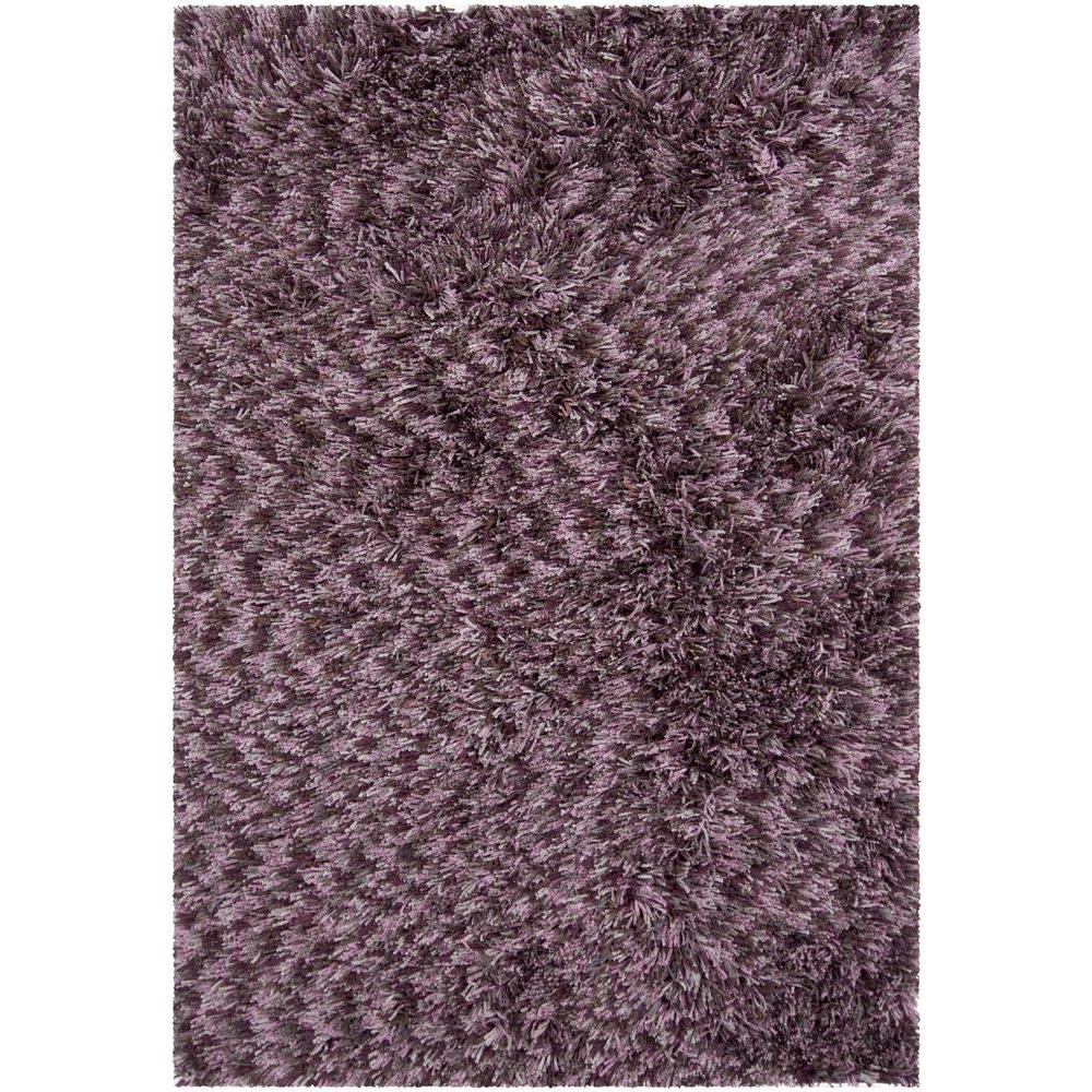 Chandra Vienna Grey Purple Pink 8 Ft X 11 Ft Indoor Area Rug