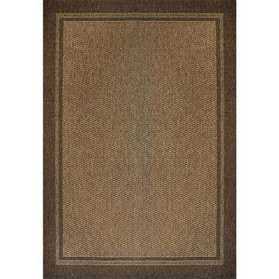 Savannah Havava and Chestnut 8 ft. x 10 ft. Indoor/Outdoor Area Rug