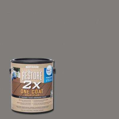1 gal. 2X Kensington Solid Deck Stain with NeverWet