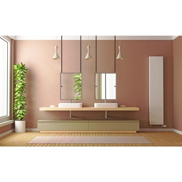 Allied Brass 21 In X 26 In Frameless Rectangle Ceiling Hung Mirror In Satin Chrome Ch 92 Sch The Home Depot