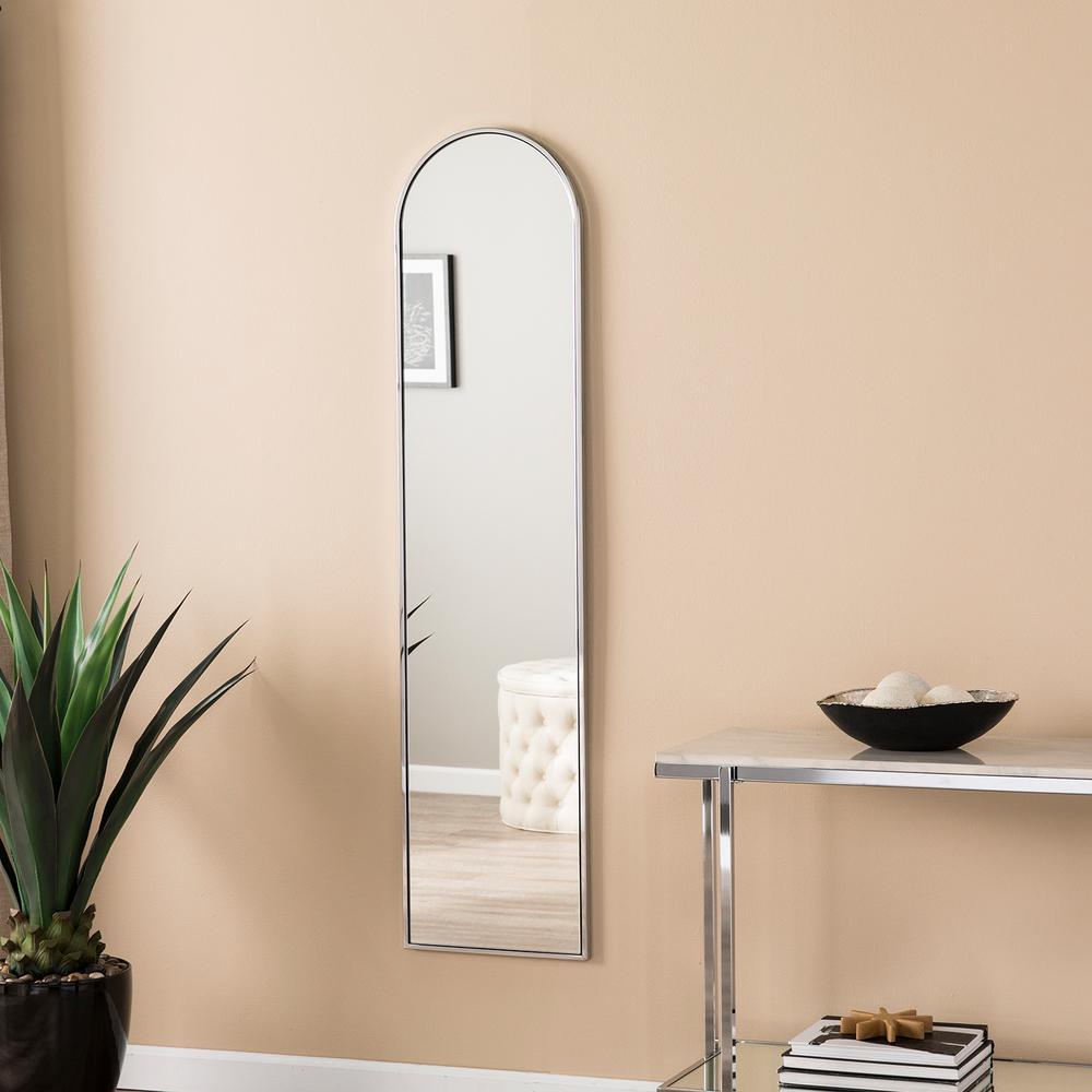 Herrenlee Chrome Decorative Full-Length Mirror