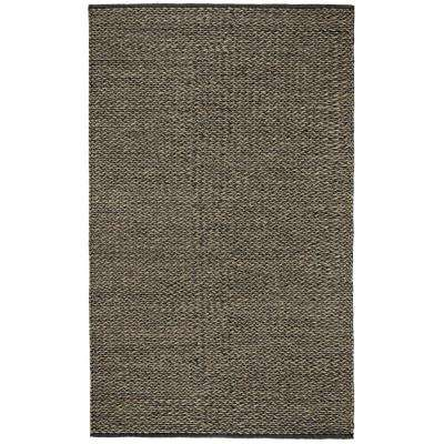 Vancouver Charcoal 9 ft. x 12 ft. Area Rug
