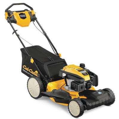 21 in. 159cc Front-Wheel Drive 3-in-1 High Rear Wheel Gas Self Propelled Walk Behind Lawn Mower