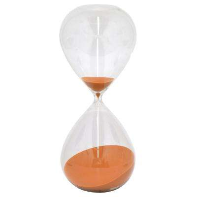 Coral Glass 2-Hours Sand Timer