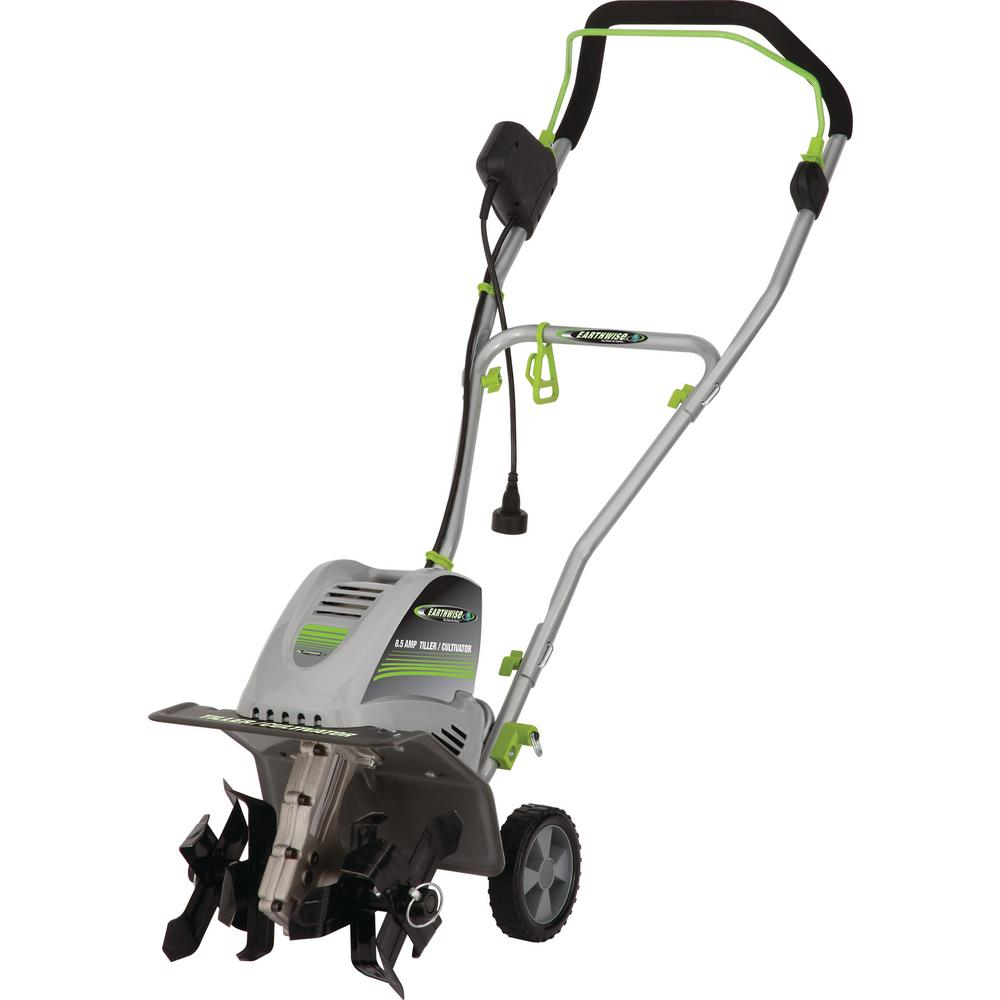 Earthwise Electric 8 5 Amp 11 In W Tiller Cultivator Tc78510 The Home Depot