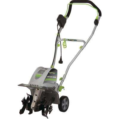 Electric 8.5 Amp 11 in. W Tiller / Cultivator