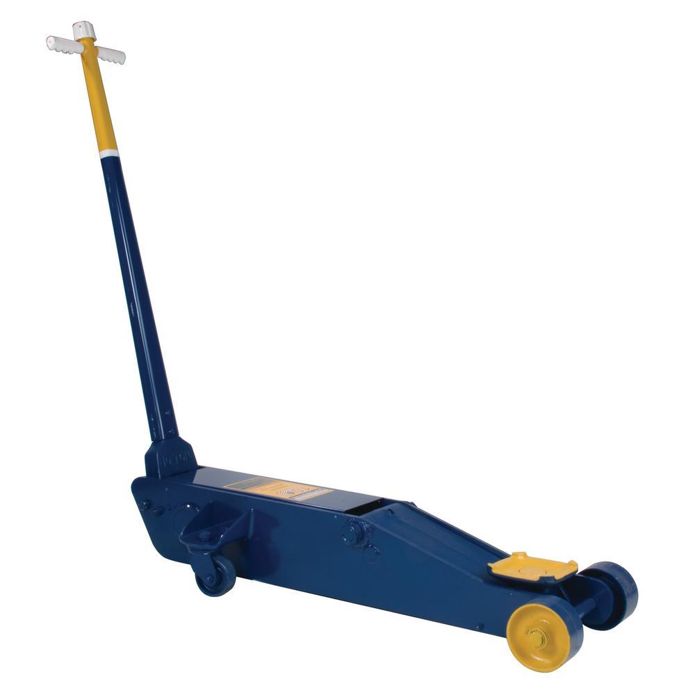 10-Ton Capacity Blue Manual Service Jack