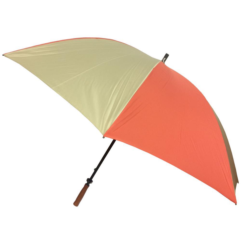 62 in. Arc Canopy Sport Umbrella in Ember/Desert
