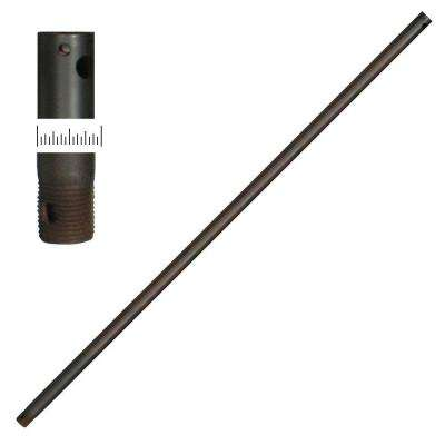 1/2 Dia 36 in. Oil-Rubbed Bronze Extension Downrod