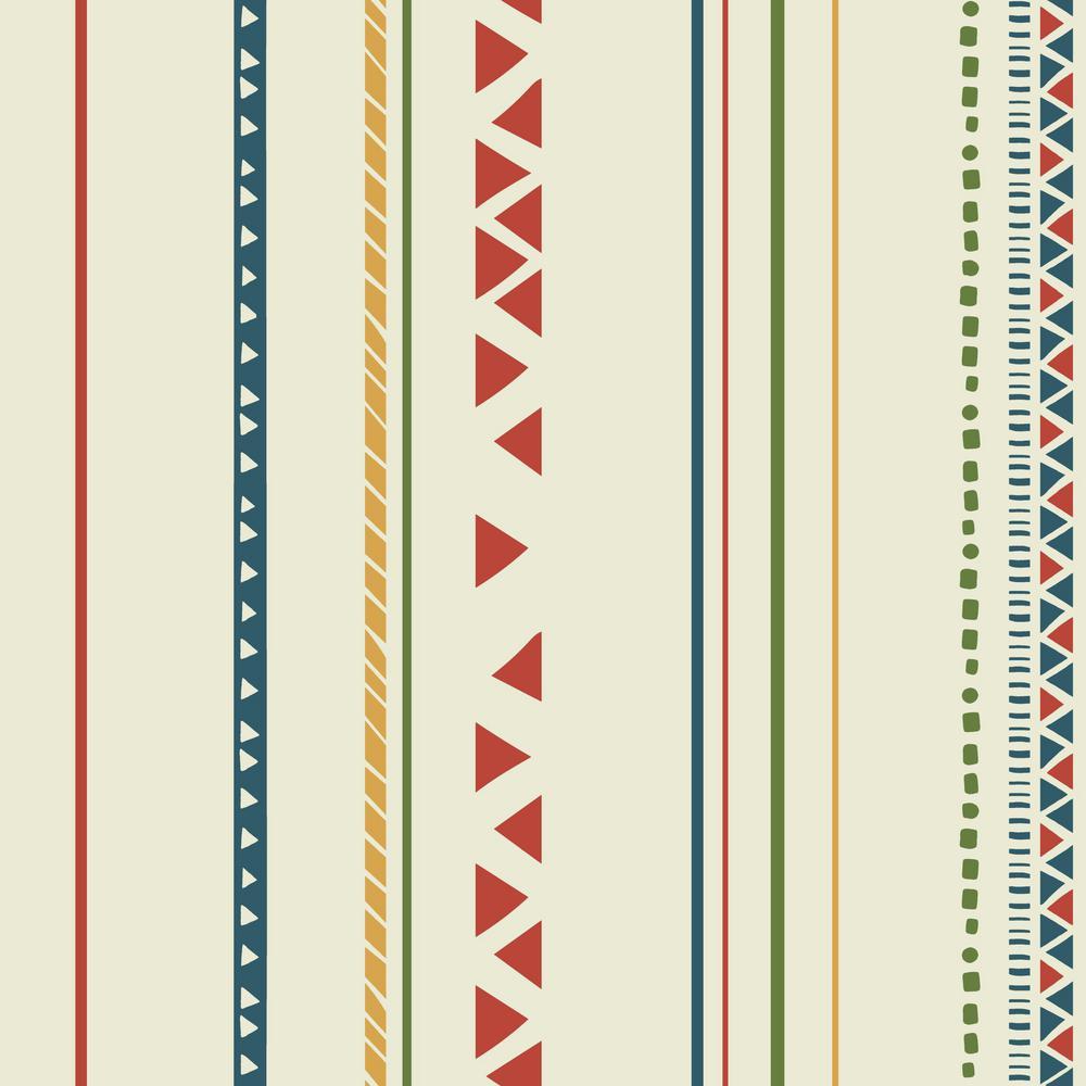 York Wallcoverings Disney Kids III Disney Lion Guard Tribal Stripe Wallpaper
